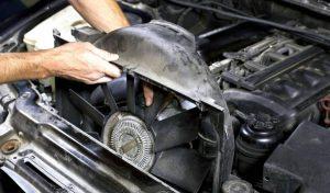 خرابی فن رادیاتور خودرو