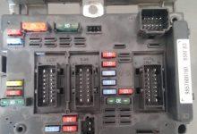 تصویر از راهنمای کامل جعبه فیوز پژو 206