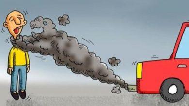 تصویر از دلیل اصلی خروج دود آبی و سفید از اگزوز ماشین